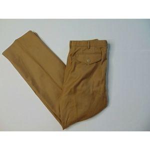 Yves Saint Laurent 30x30 Wool Dress Pants Brown